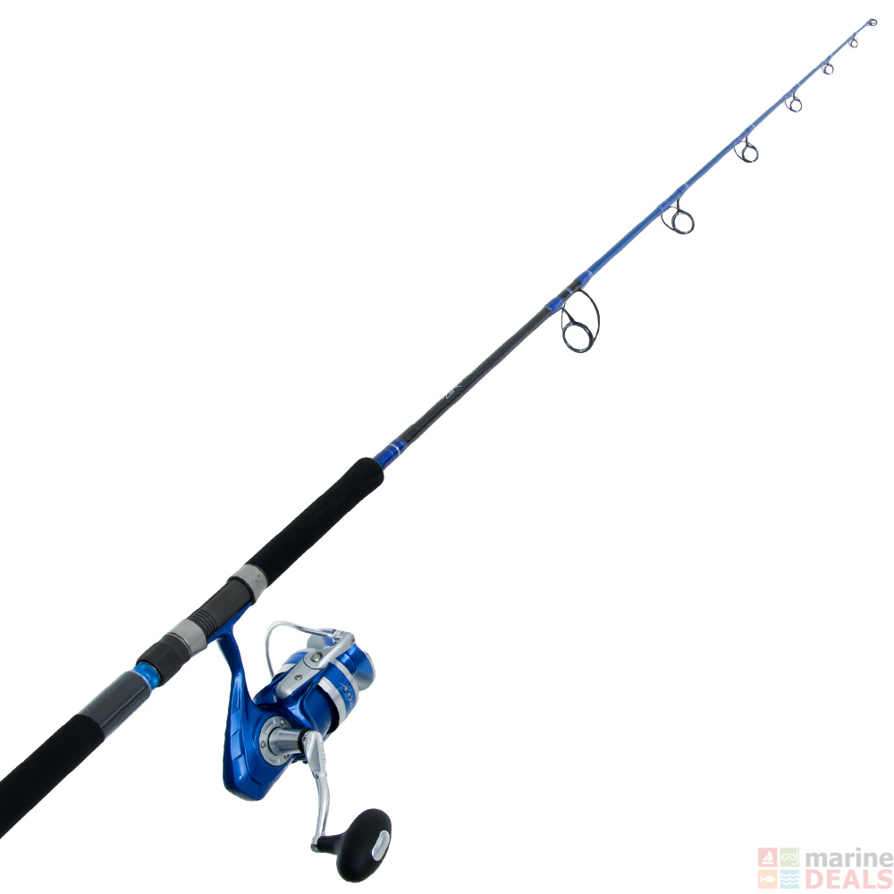 Buy Okuma Azores Blue 6500 Stickbait Combo with Tube 7ft 9in 45-150g