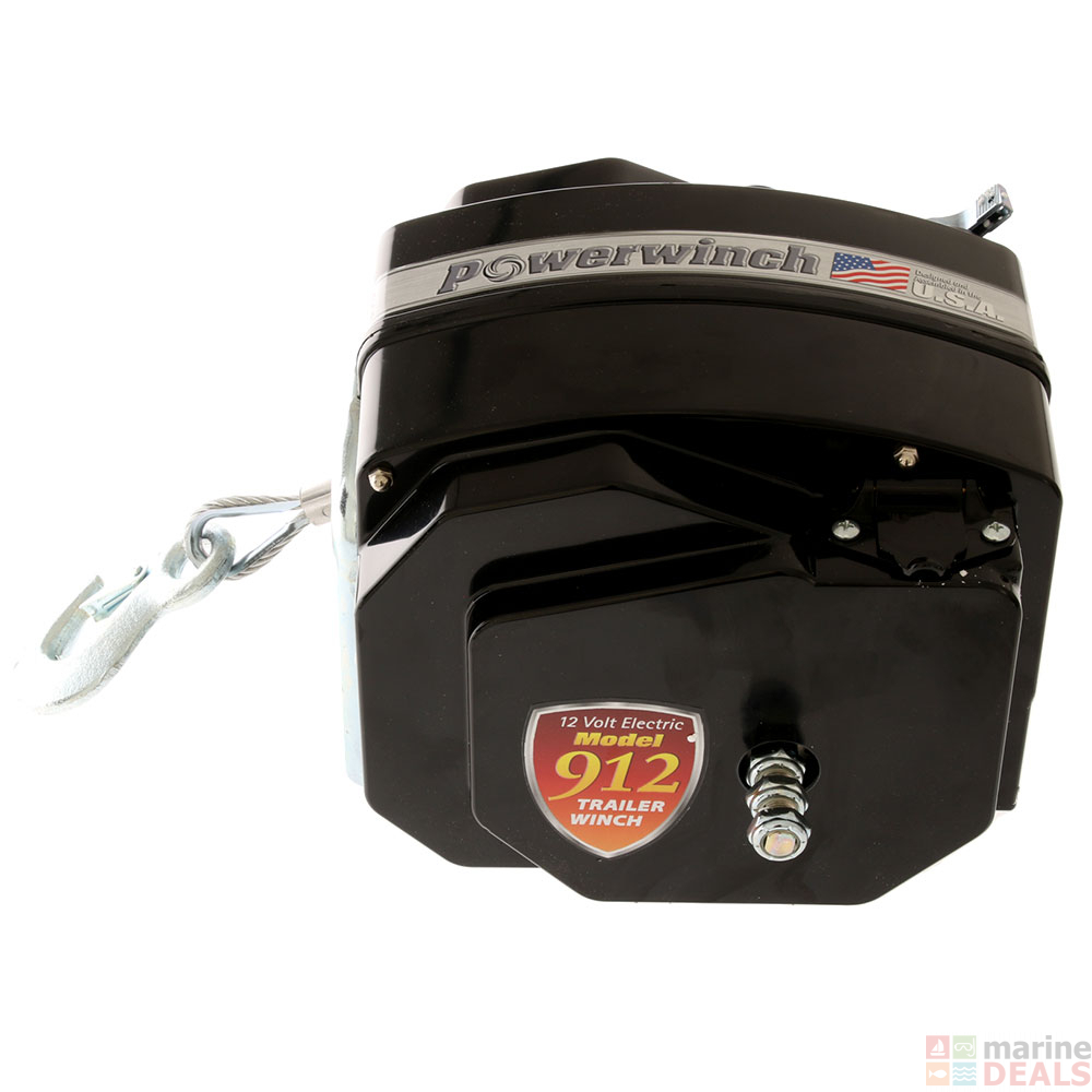 POWERWINCH 912 TRAILER WINCH FOR BOATS TO 10,000 LB.
