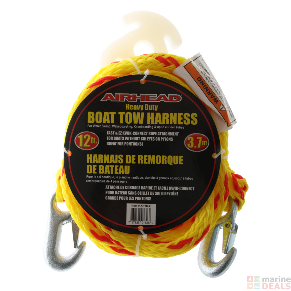 Airhead Heavy Duty Tow Harness 4 Riders 12ft on