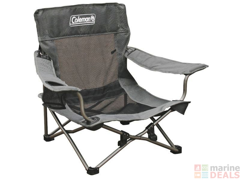 Buy Coleman Deluxe Mesh Event Quad Chair Online At Marine