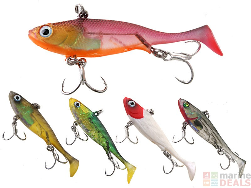 Buy fish candy jack hammer paddlevibe soft bait 120mm for Hammer jack fish