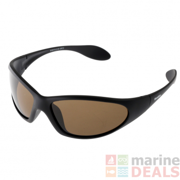 Snowbee Polarised Wraparound Sunglasses Light Brown