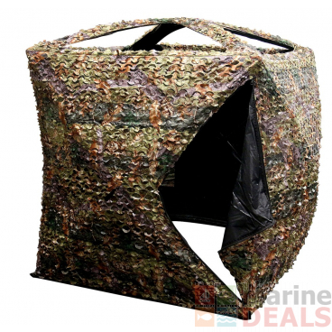 Outdoor Outfitters Game On Mai Mai Square Blind 3D Leaf Buckthorn Camo