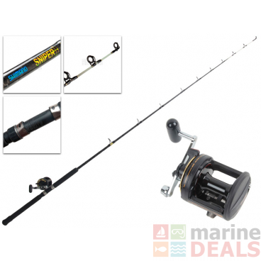 Shimano TLD 15 and Sniper Boat Combo 7ft 10-15kg