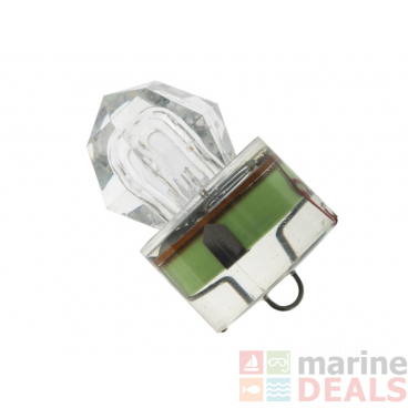 Underwater Diamond LED Strobe Light Green