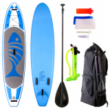 AquaWarrior Deluxe Inflatable Stand Up Paddle Board 11ft