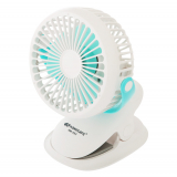 Kamisafe 3-Speed USB Rechargeable Mini Desk Fan 3W