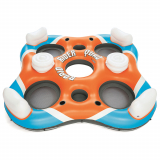 Bestway CoolerZ Rapid Rider Quad Inflatable 4-Person Island Tube
