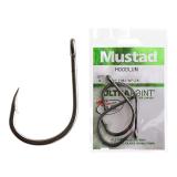 Mustad Hoodlum Z-Steel Live Bait Hooks 11/0 Qty 3