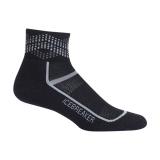 Icebreaker Mens Merino Multisport Light Mini Socks Black L