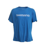 Shimano Lure'd In Kingfish T-Shirt Cyan Blue