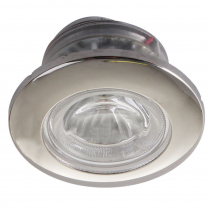 Stainless LED Ceiling Light Warm White 1W