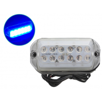 Transom Mount LED Underwater Light Blue