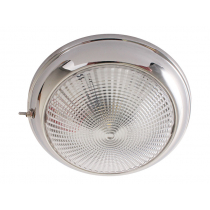 Stainless LED Dome Cabin Light 132mm 3w