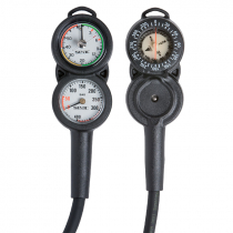 Seac Console 3 Compact Dive Gauge with Compass