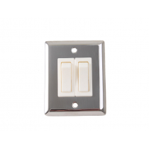 Stainless Steel Wall Light Switch 2 Way