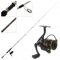 Abu Garcia Pro Max 30 and Veritas 3.0 Trout Canal Combo 7ft 8in 1-3kg 2pc