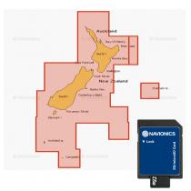 Navionics Plus Regions Chart Card NZ North and South Island MSD