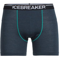 Icebreaker Mens Merino Anatomica Boxers Nori Heather/Nautical