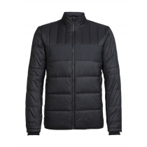 Icebreaker Mens MerinoLOFT Stratus X Jacket Black/Jet Heather