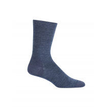 Icebreaker Merino Lifestyle Fine Gauge Crew Socks Fathom Heather/Midnight Navy S/M