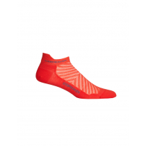 Icebreaker Merino Run+ Ultra Light Micro Mens Socks Red M