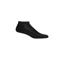 Icebreaker Merino Hybrid Lifestyle Cool-Lite Low Cut Mens Socks Jet Heather/Timberwolf