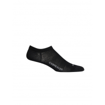 Icebreaker Merino Hybrid Womens Lifestyle Cool Lite No Show Socks Black