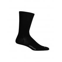 Icebreaker Merino Hybrid Lifestyle Cool-Lite Crew Mens Socks Black