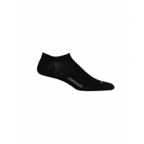 Icebreaker Merino Hybrid Lifestyle Cool-Lite No Show Mens Socks Black
