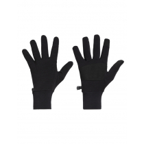Icebreaker Merino Sierra Gloves with Suede Palm Grip Black
