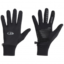 Icebreaker Merino Tech Trainer Hybrid Gloves Black