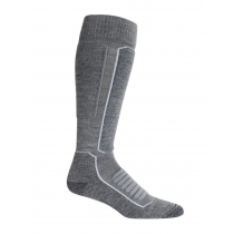 Icebreaker Mens Ski+ Medium OTC Socks Gritstone Heather/Black