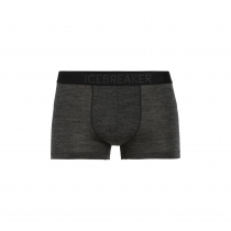 Icebreaker Cool-Lite Anatomica Mens Trunks Black Heather