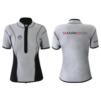 Sharkskin Chillproof Climate Control Womens Short Sleeve Top