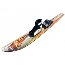 Ron Marks B52 Wide Body Parabolic Water Ski with Bindings 167cm
