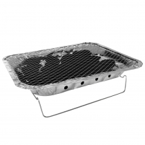 Kiwi Sizzler Disposable Charcoal BBQ Grill