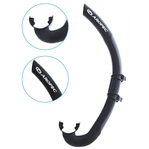 Aropec Oarfish Floating Spearo Snorkel Black
