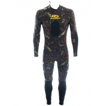 Aropec Wine Green Camouflage Mens Spearfishing Wetsuit 2mm XL