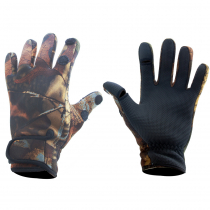 Outdoor Outfitters Neoprene Camo Full Finger Gloves L