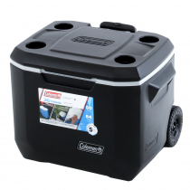 Coleman Xtreme Wheeled Chilly Bin Cooler 47L Black/Grey