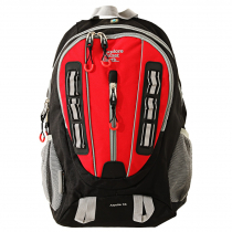 Explore Planet Earth Aquila 35L Daypack Black/Red