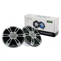 Fusion Signature 2-Way Coaxial Sports Chrome Marine Speakers with LED 7.7'' 280W