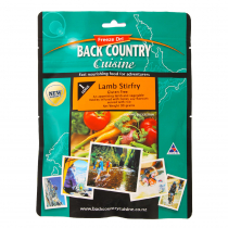 Back Country Cuisine Lamb Stirfry Gluten Free 1 Serve