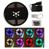Perfect Image LED Strip Light 5m Multicolour with Remote