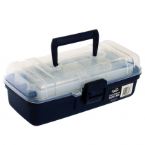 Jarvis Walker 1 Tray Clear Top Tackle Box