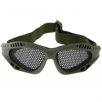 Outdoor Outfitters Airsoft Safety Goggles - Steel Mesh