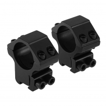 Outdoor Optics Rings 3/8 1in High Double Clamp