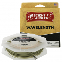 Scientific Anglers Wavelength Textured Trout Fly Line WF6F Willow