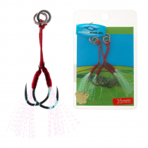 Ocean Angler Micro Knife Assist Rig Twin Pack